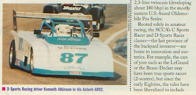 "From a 1993 Road & Track article :: <a href=""http://sportsracernet.smugmug.com/Articles/Road-Track/1993/"">http://sportsracernet.smugmug.com/Articles/Road-Track/1993/</a>"