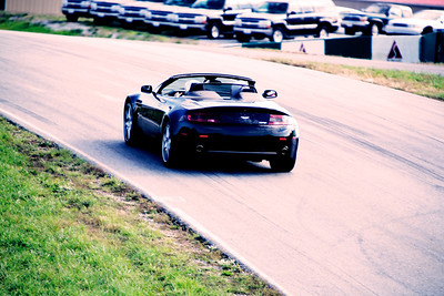 aston martin vantage volante on the race track aston martin collection