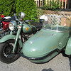 Sunbeam motorbike with Watsonian sidecar.