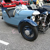This picture and next two: Morgan Three-Wheeler.
