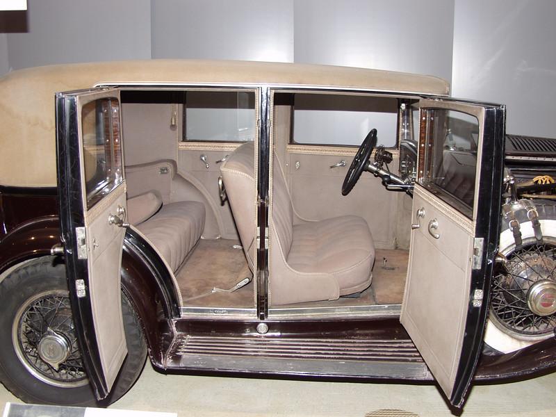 Interior of unrestored 1929 L29 Cord.  See full description under previous photo.