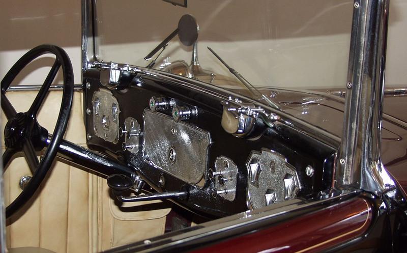 1930 Cord L-29 interior.  See previous image for full description.