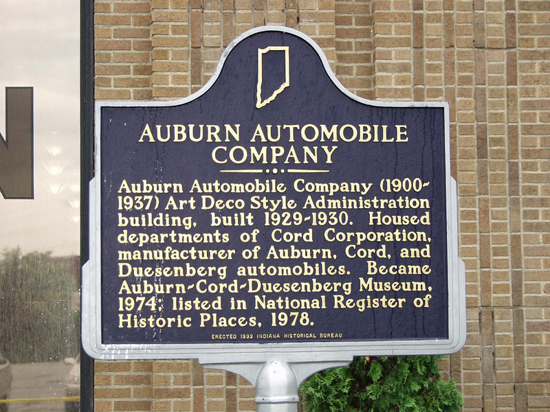 If you love the grace, the sculptural beauty, the engineering history, of the automobile, take a trip to Auburn Indiana.