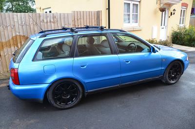 Audi A4 (Blue)