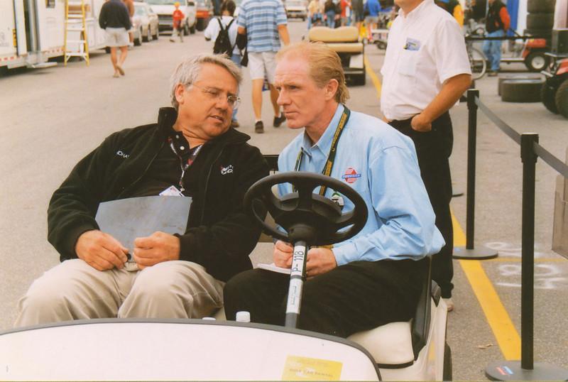 Tom Milner (D/USA) and Derek Daly (IRL/USA)