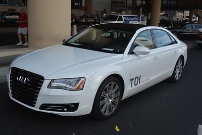 Audi RS7 press launch, Las Vegas 2013
