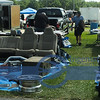 Just about everything for your Pontiac is available at the SWAP MEET area.