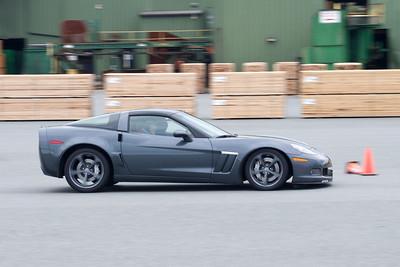 Victoria Corvette Club AutoX Nanaimo