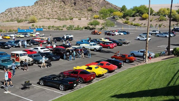 Auto Enthusiasts Put Their Cars On Display Prior to the Start of the 2017 Copperstate 1000