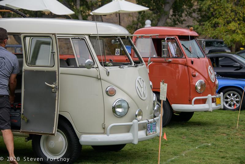 1966 Volkswagen Double Cab, 1960 Volkswagen Single Cab