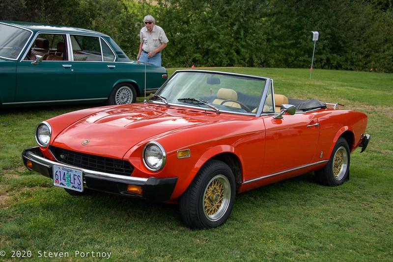 1978 Fiat 124 Sport Spider 1800