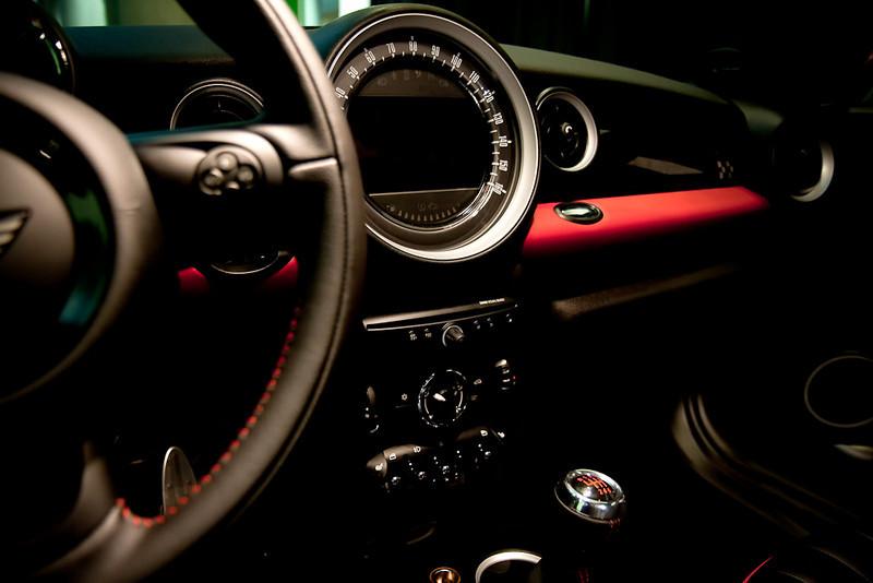 2012 Mini Coupe's dashboard. Nice!