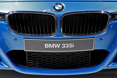 The new BMW 3 series as seen as in a 335i sedan with a prototype M-sport package.