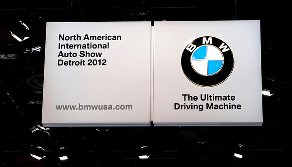 The North American International Auto Show in Detroit, as seen on January 17 2012. Photography by Bradley S. Pines © 2012