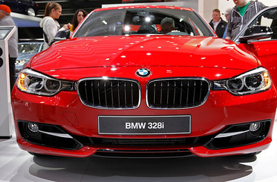 The new BMW 3 series as seen as a 328i.