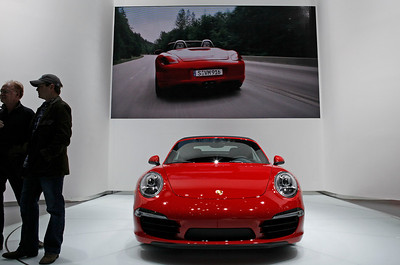 The new Porsche 911 Carrera Cabriolet.