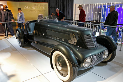 Edsel Ford's 1934 Model 40 Special Speedster. Purchased for $1,000 before restoration, it reportedly sold for $1.6 million.
