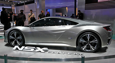 The long-awaited Acura NSX replacement, scheduled for production in Ohio.