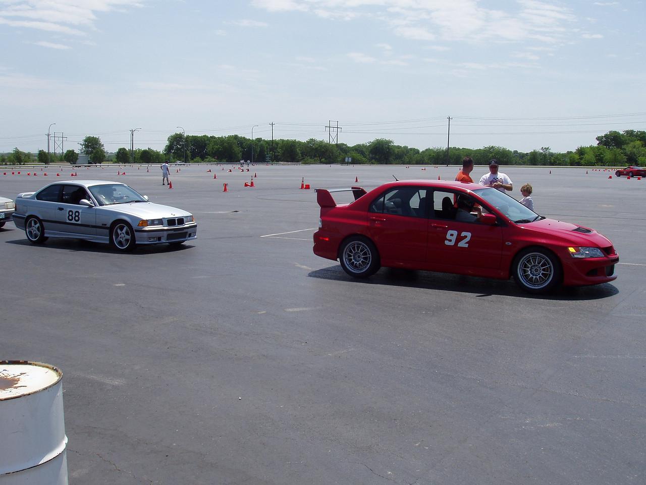 E36 M3 and Jim Harris' Evo