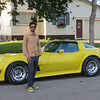 "Adnan poses in front of a corvette before we continued our walk during Waterama in Glenwood, Minnesota (Saturday, July 2013)... <a href=""http://pope.goodnewsminnesota.info/glenwood.html"">http://pope.goodnewsminnesota.info/glenwood.html</a><br /> <br /> <a href=""http://www.corvettemuseum.org/"">http://www.corvettemuseum.org/</a>"