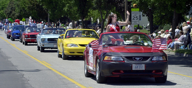 Parade of Mustangs