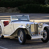 "A 1948 MG TC that has 24,000 original miles and was originally owned by movie star Larry (""The Jolson Story"") Parks."