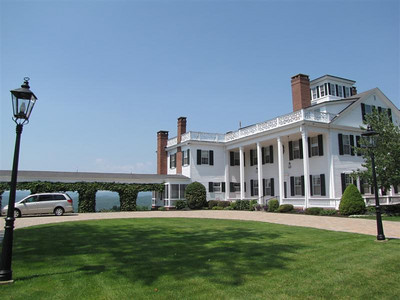 Bahre Auto Collection. This was once the estate of former Maine Governor and Vice-President Hannibal Hamlin, 1861-1865.