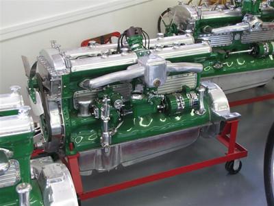 Duesneberg engine