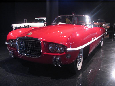 Dodge Firearrow IV, designed by Virgil Exner and built at Ghia in Turin Italy.