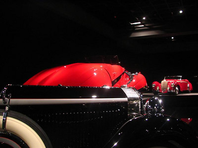 Horch Type 670 Glaser Sport Cabriolet and Cadiallac Hartmann Cabriolet