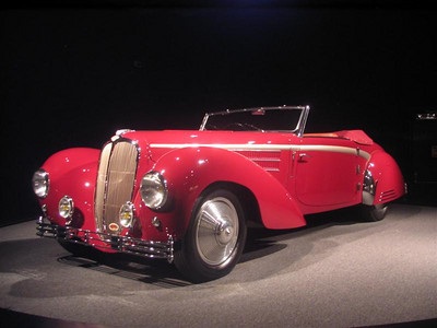 Delahaye 135MS Guillore Roadster, one of one and built for the 1947 Paris Auto Salon.