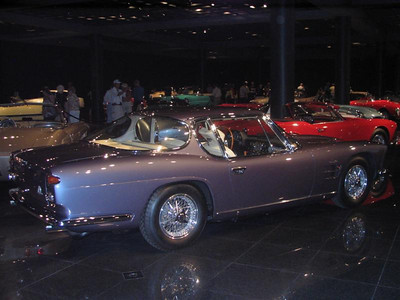 Maserati 5000GT Frua, one of two produced.