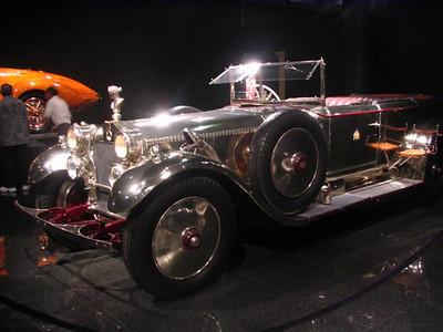 Daimler Model 45HP Salon Cabriolet.