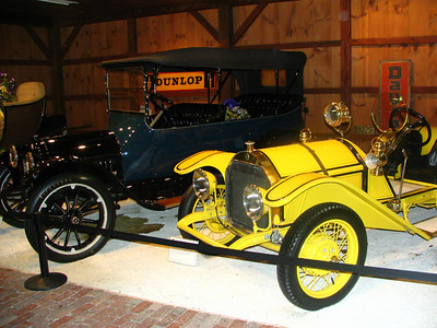 The Collings Foundation - Chevrolet Baby Grand Touring and Mercer Speedster Raceabout (replica)