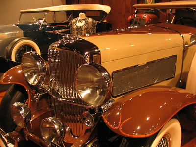 The Collings Foundation - Duesenberg Dual Cowl Phaeton LaGrande. A significant car in Duesenberg history as it was the test car for Fred Duesenberg and fitted with the first LaGrande Dual Cowl body.