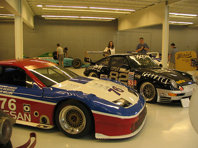 The Collings Foundation - Nissan 300ZX Turbo IMSA and Porsche 911 GTS3