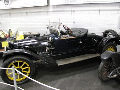 ANNEX. Packard. This particular car is one of the very first cars to have a rumble seat.