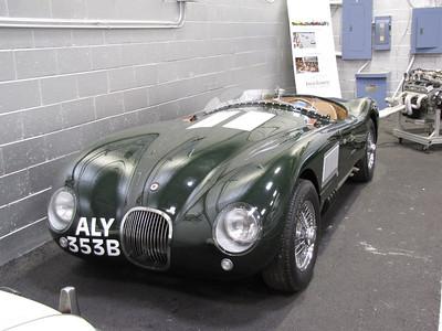ANNEX. Jaguar C-Type replica