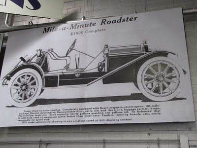 ANNEX. Hudson Mile-A-Minute Roadster
