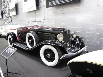 ANNEX. Auburn V12 12-165 Speedster, 'Salon Model'