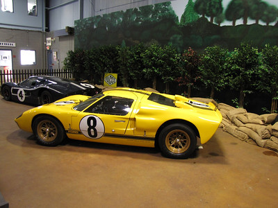 AMERICANS AT LE MANS. Ford GT40 MkII