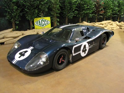 AMERICANS AT LE MANS. Ford GT40 MkIV