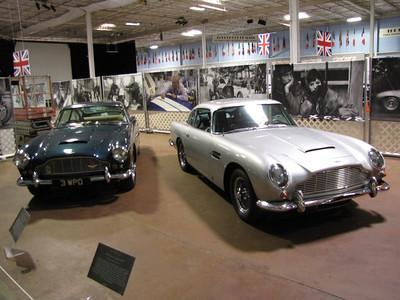 Aston Martin DB5s