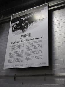 ANNEX. Paige Daytona 6-66 Speedster. 'Fastest Stock Car In The World'.