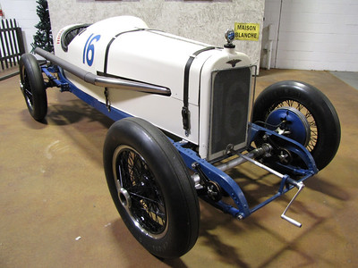 AMERICA'S FIRST INTERNATIONAL WIN. Duesenberg. In 1921 Duesenberg sent three official factory racecars to France for the Grand Prix of Le Mans. One of the Duesenbergs won outright. This car is one of the three.