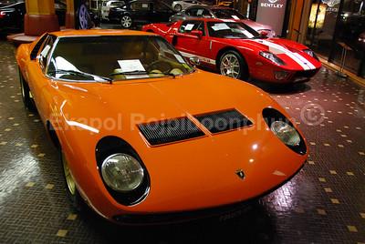 Lamborghini Miura - Ford GT