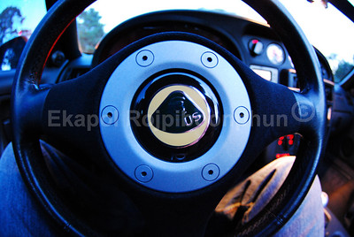 Lotus Elise S2 steering wheel on a special Lotus Elan