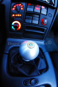 Momo Shift Knob -- Lotus Esprit edition on a Lotus Elan.