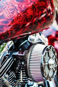 Demon Breath  Thunderstruck Custom Motorcycle Show, Medford, Oregon 2013.