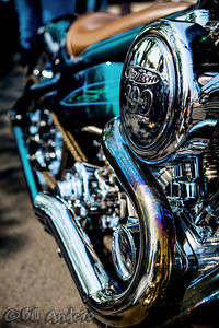 Blued  Thunderstruck Custom Motorcycle Show, Medford, Oregon 2013.